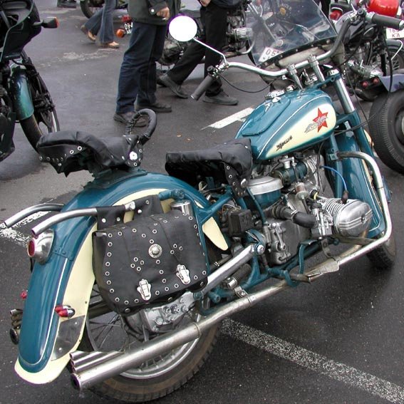 тюнинг мотоцикла урал.