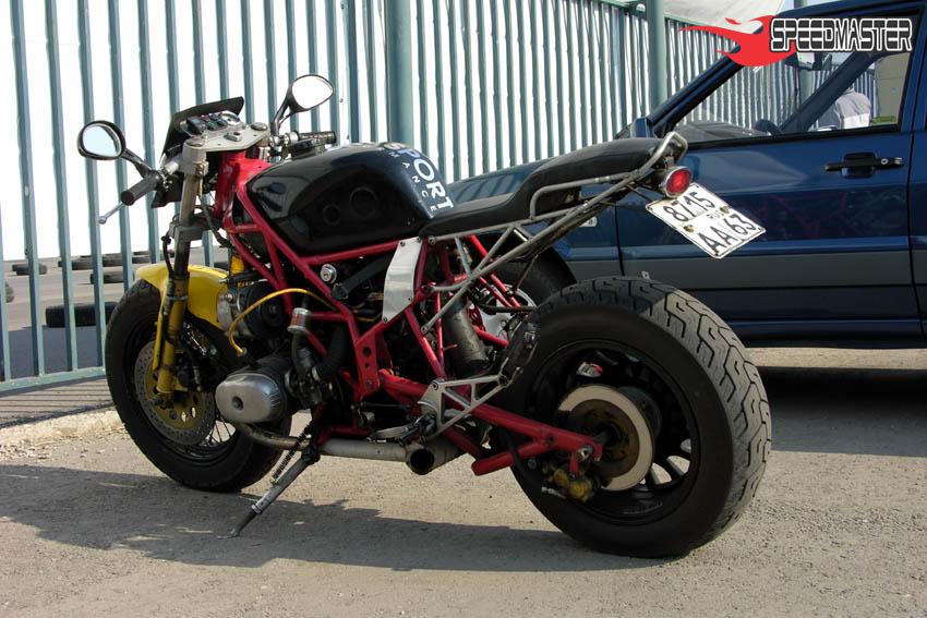 Спортивный мотоцикл своими руками